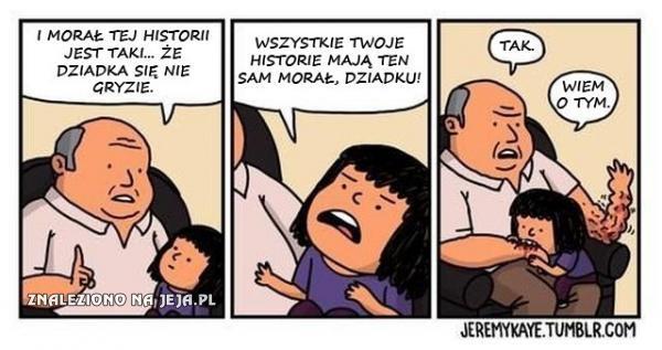 Dziadka się nie gryzie
