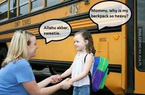 Ciężki plecak