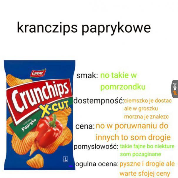 Recenzja Crunchipsów