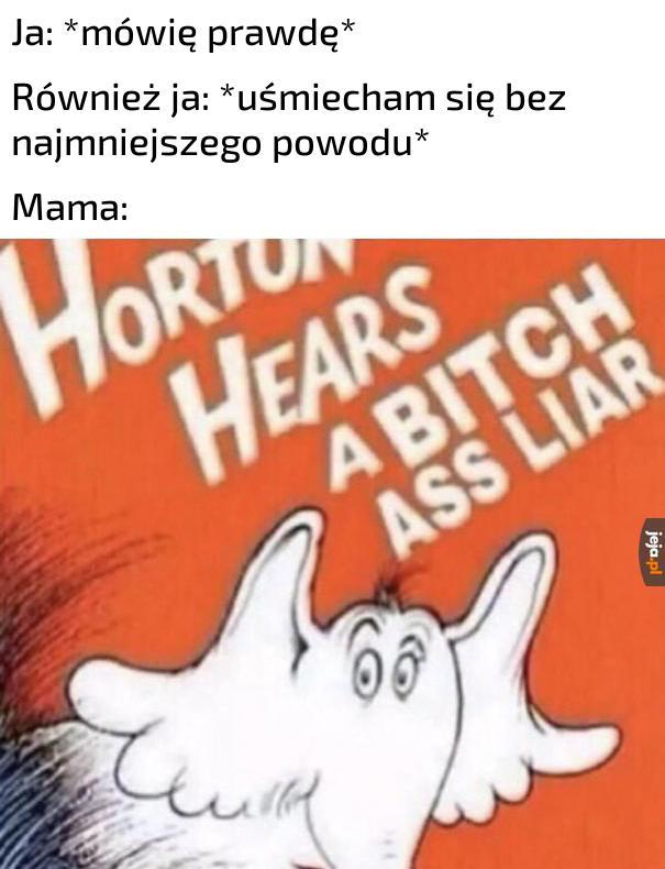Kłamiesz!
