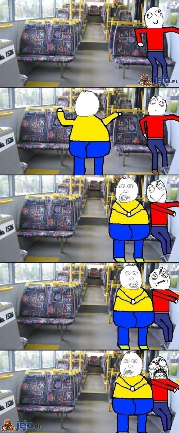 Zawsze, gdy jadę pustym autobusem...