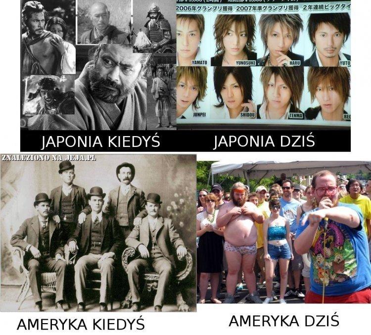 Japonia i Ameryka - zmiany