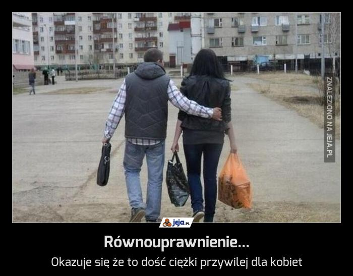Równouprawnienie...