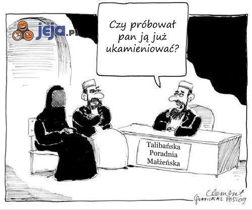 Talibańska poradnia małżeńska
