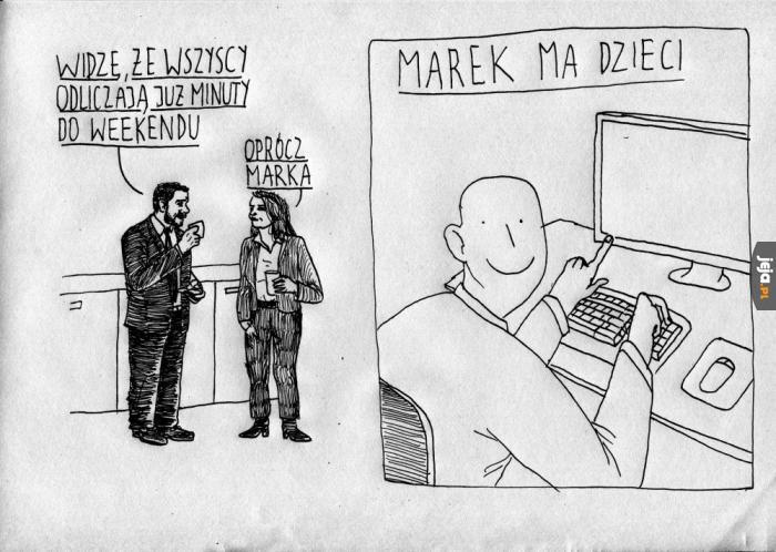 Marek nie ma majówki