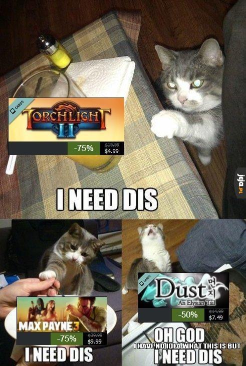 Potrzebuję ich wszystkich!