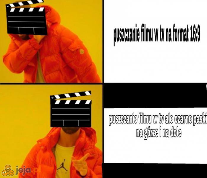 Typowe filmy w tv