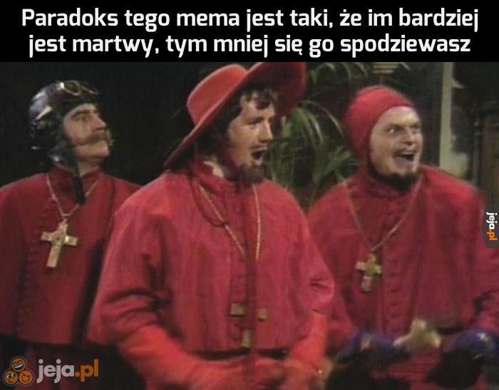 Paradoks hiszpańskiej inkwizycji