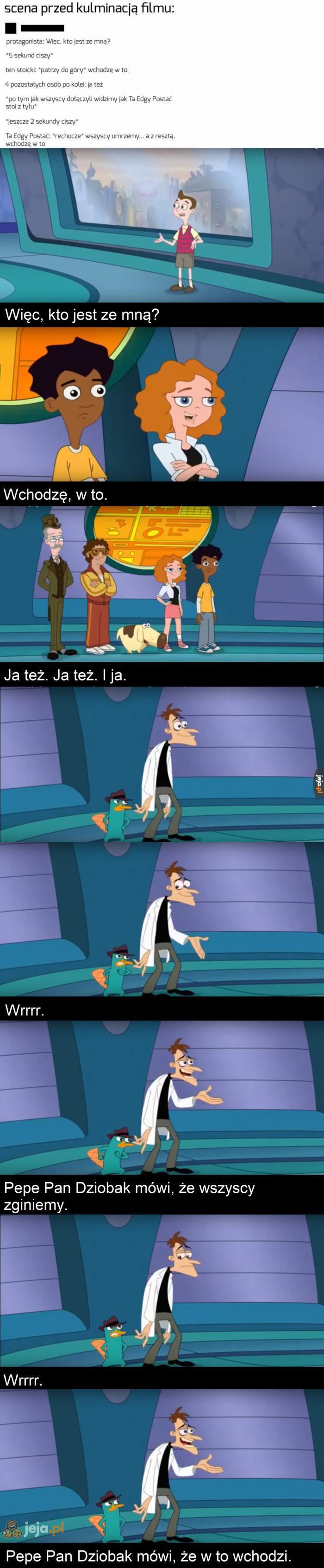 Pepe zawsze był tajemniczym twardzielem