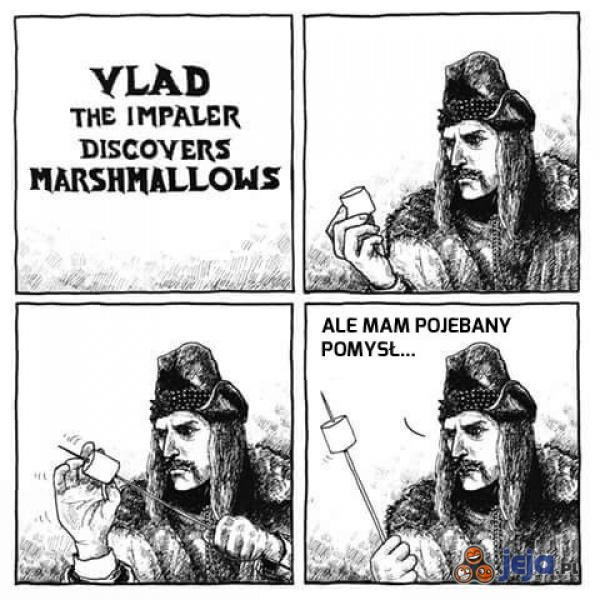 Vlad Palownik odkrywa pianki