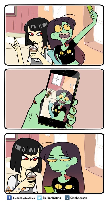 Selfie z wampirem