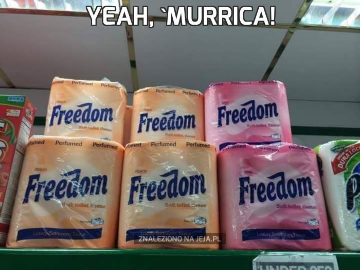Yeah, 'Murrica!