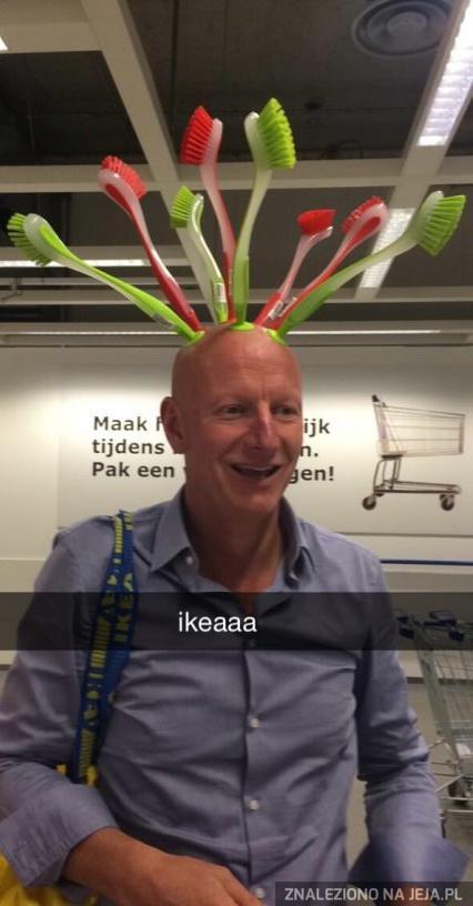Na zakupach w Ikei