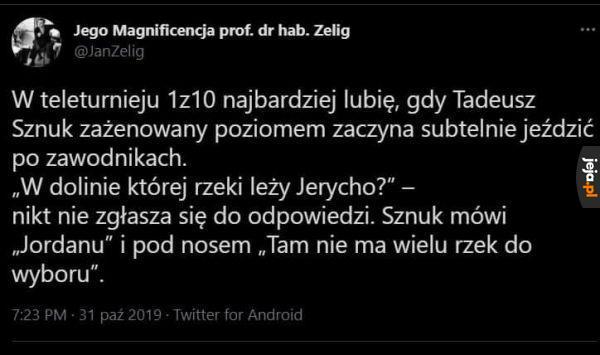 Tadeusz mistrz