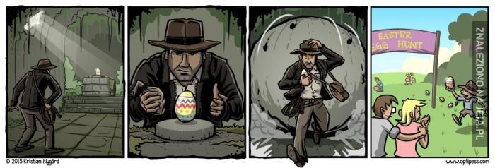 Poszukiwacze zaginionego jajka
