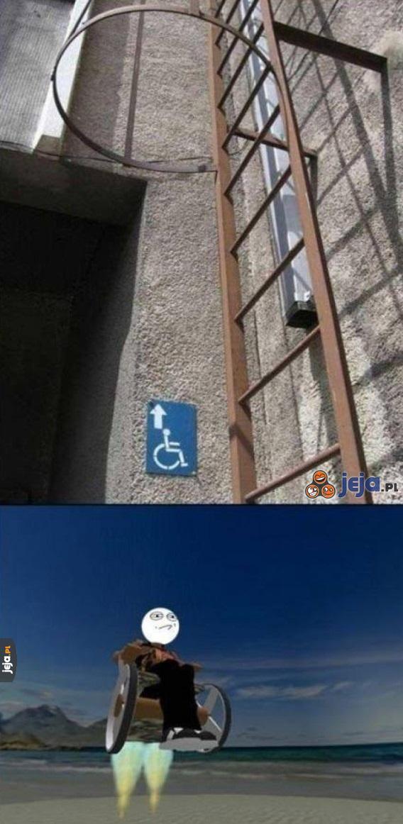 Drabina dla inwalidów