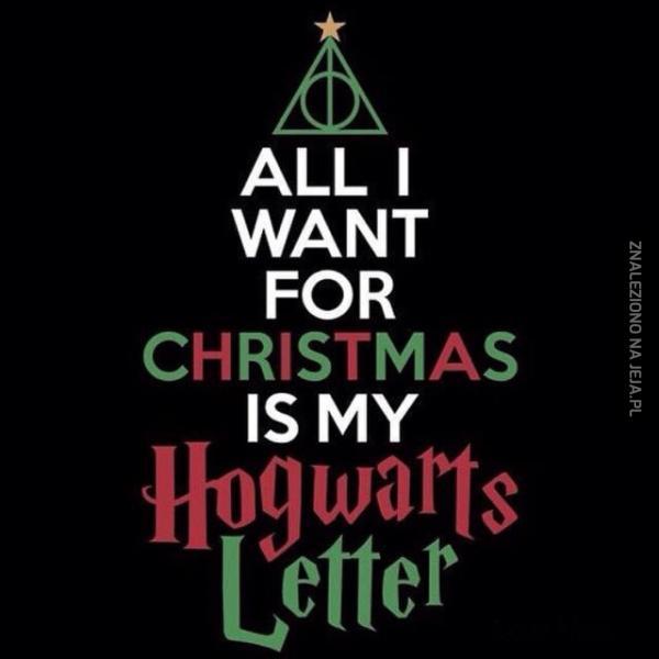 Wszystko czego chcę na święta...