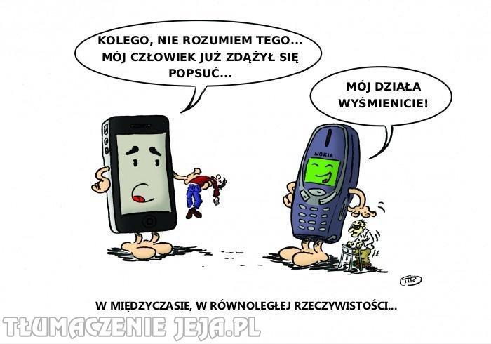 Dzisiejsze telefony komórkowe