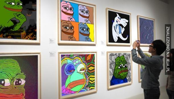 Pepe i sztuka
