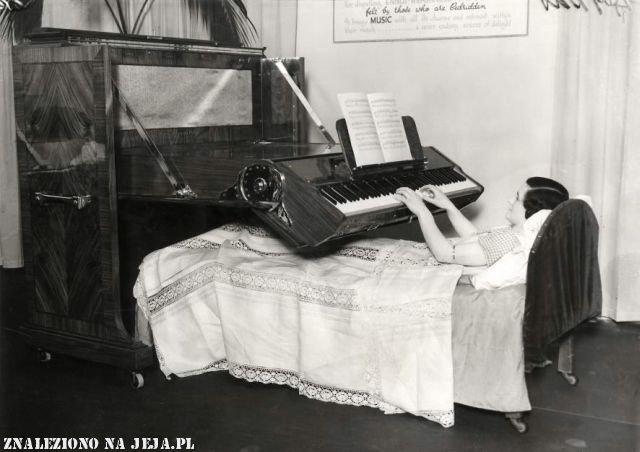 Pianino z 1935 roku