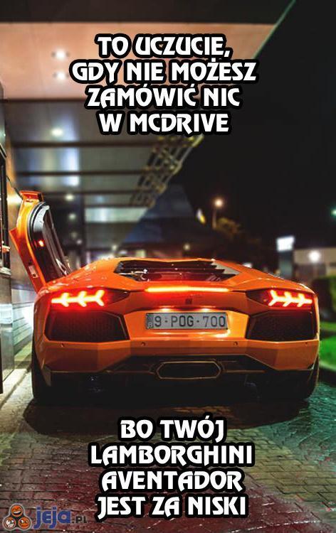 Problem w McDrive