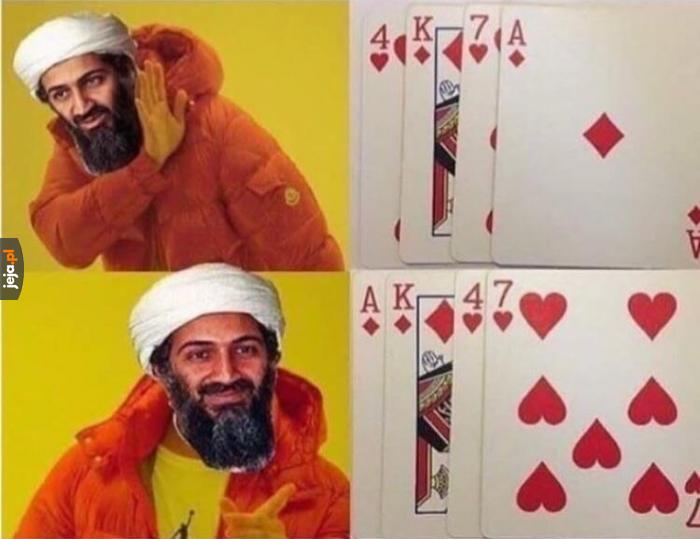 Idealny układ kart