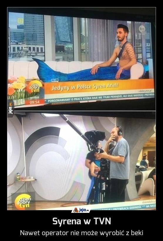 Syrena w TVN