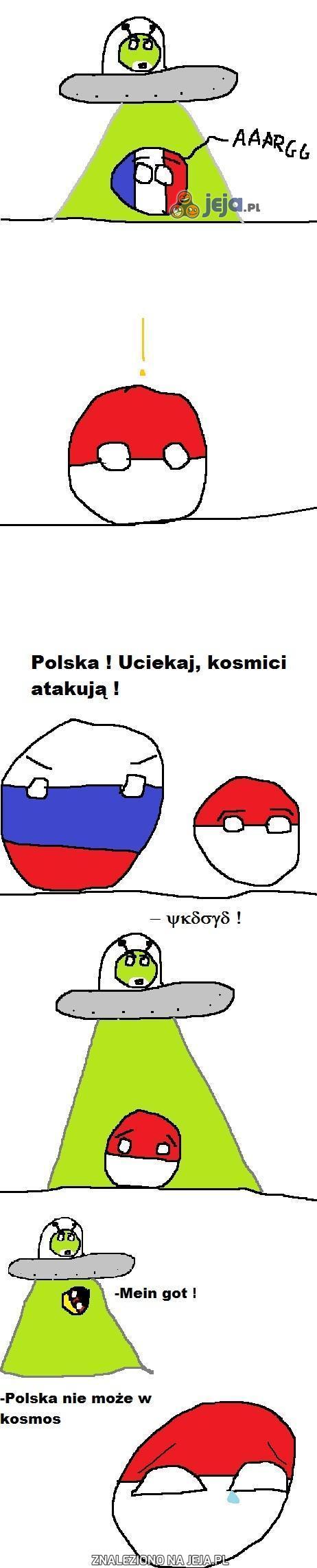 Polska, uciekaj, kosmici!