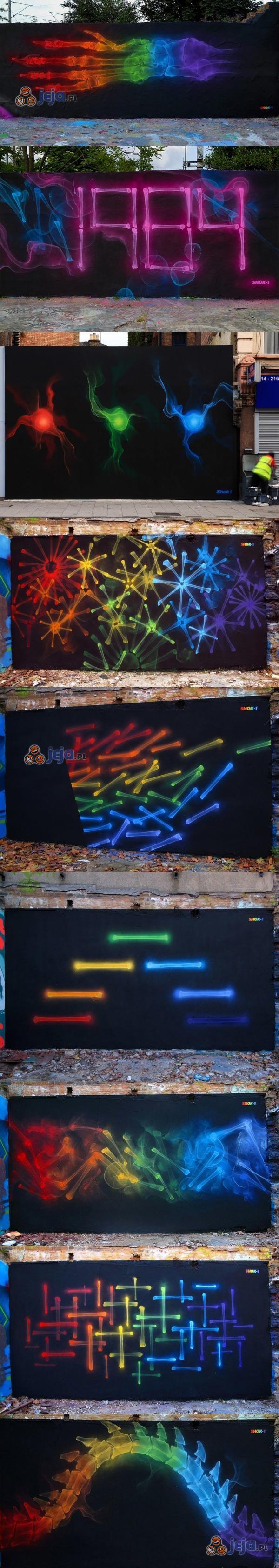Graffiti niczym pod rentgenem