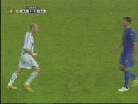 Zidane i  Materrazi po japońsku