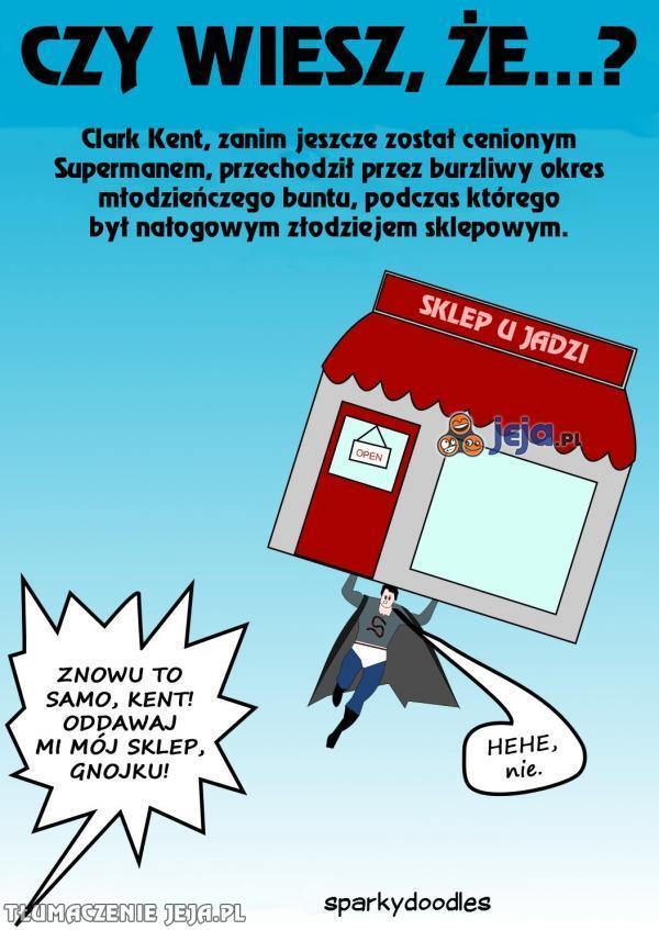 Niewygodne fakty z przeszłości Supermana