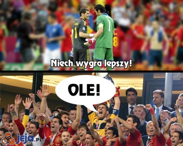 Finał EURO 2012 - Hiszpania - Włochy 4-0