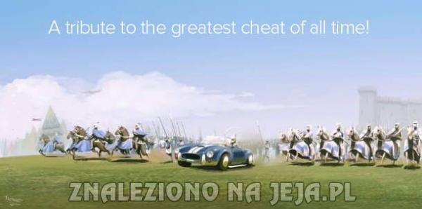 Najlepszy cheat w historii gier
