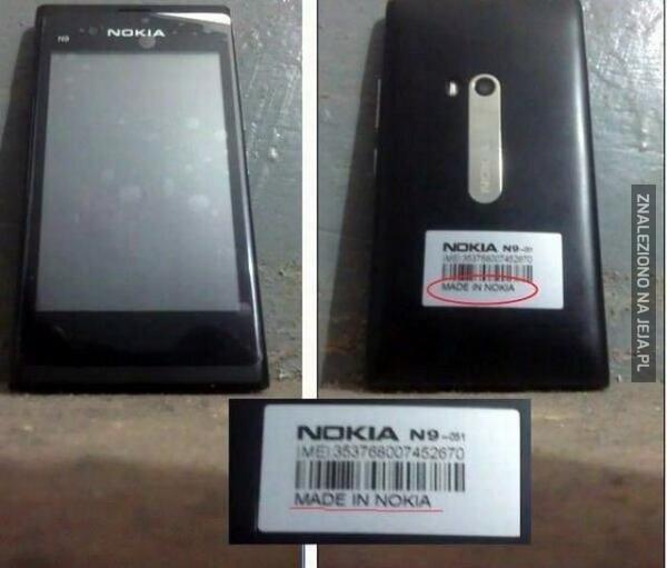 Jedyna taka Nokia
