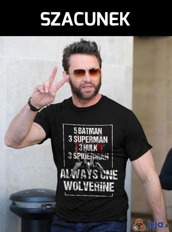 Wolverine jest tylko jeden