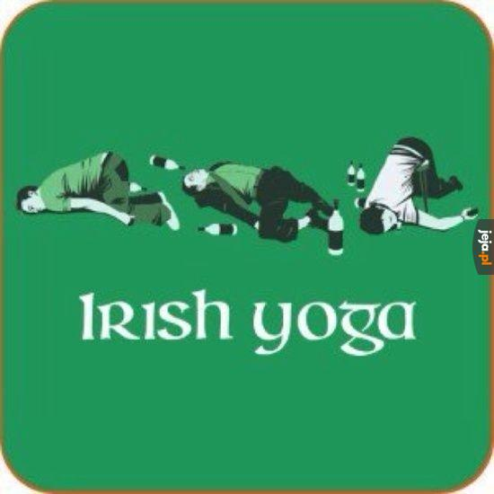 Joga po irlandzku