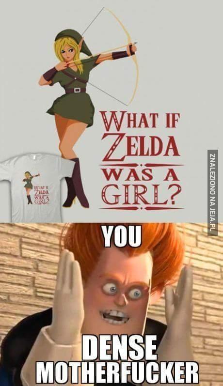 Gdyby Zelda była dziewczyną...