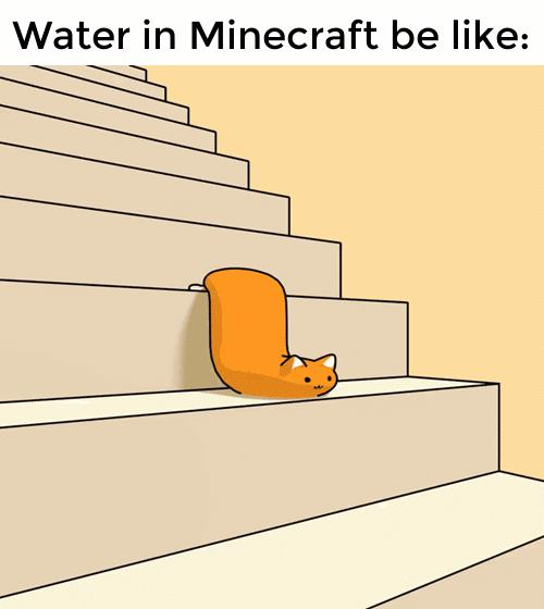 Woda w Minecrafcie taka jest