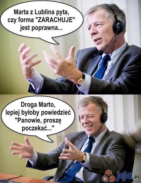 Jan Miodek radzi