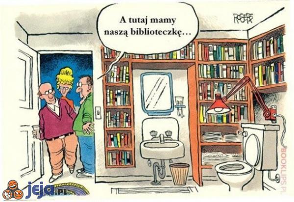 Najlepsze miejsce do czytania