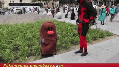 Deadpool demaskuje Digletta
