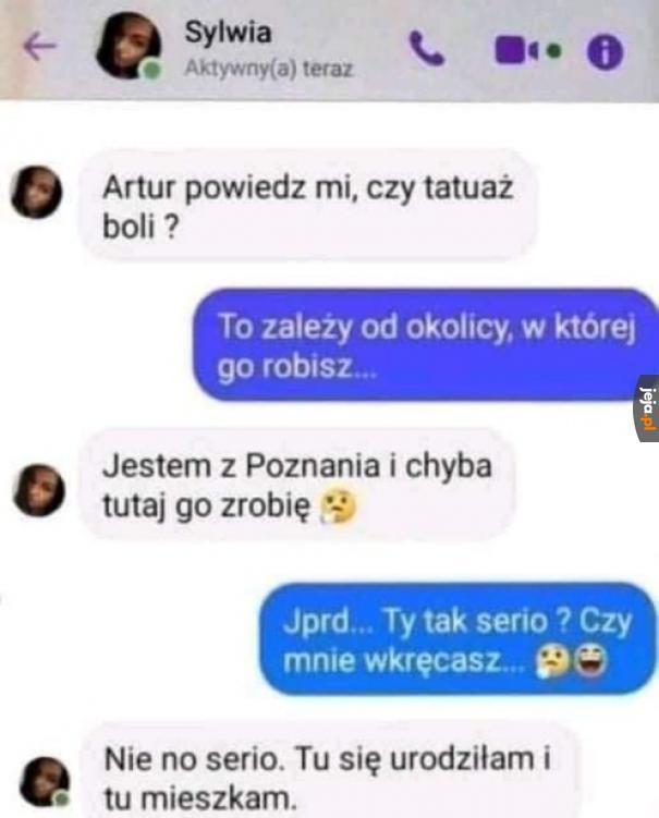 Sylwia, Ty tak serio?