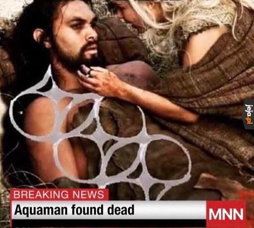 Nawet on nie uchronił się przed śmieciami w morzu