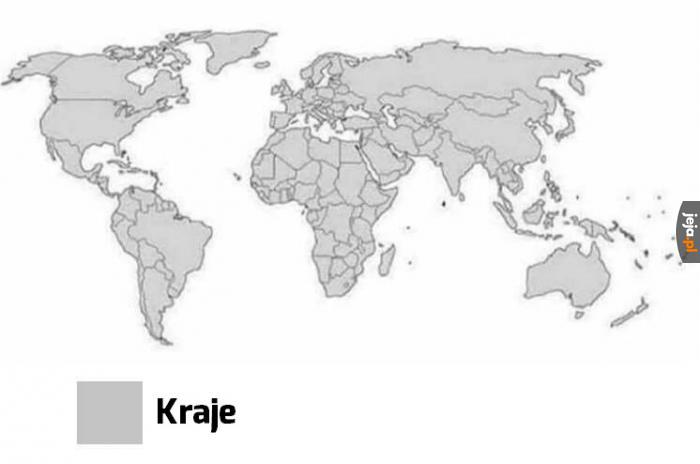 Bardzo dokładna mapa