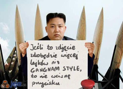 Kim ogłasza akcję
