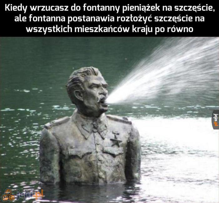 A niech Cię, fontanno Stalina!