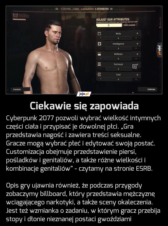 Czekasz na Cyberpunka?