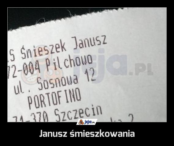 Janusz śmieszkowania