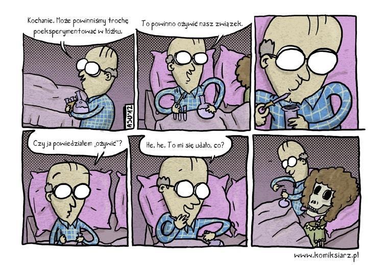Eksperymentowanie w łóżku