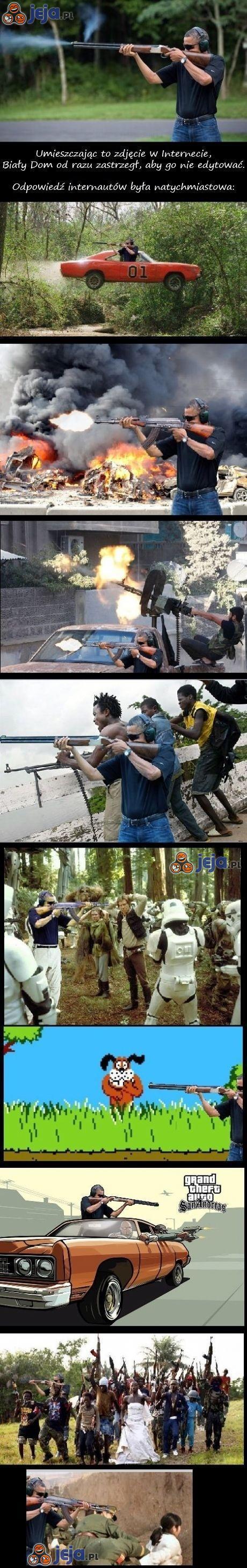 Obama po raz kolejny ofiarą Photoshopa